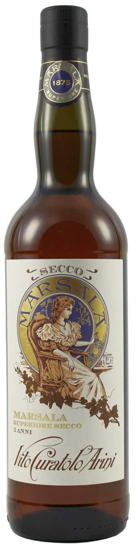 Marsala Curatolo - Superiore Secco DOC - 18% Vol.  0,75 l
