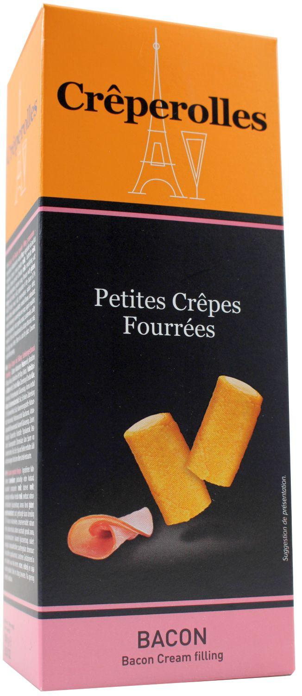 Creperolles Bacon - Waffelröllchen mit Schinken 100g - TraouMad, Frankreich