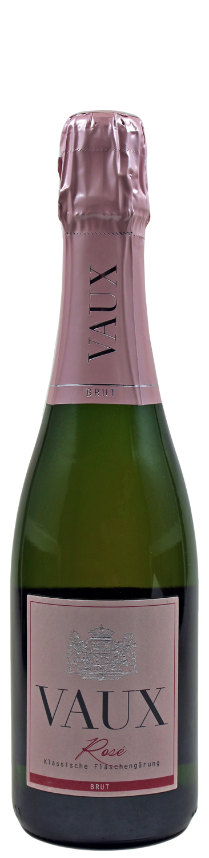 Rose Brut - Klassische Flaschengärung 0,375 l - Schloss Vaux Sekt Manufaktur, Eltville