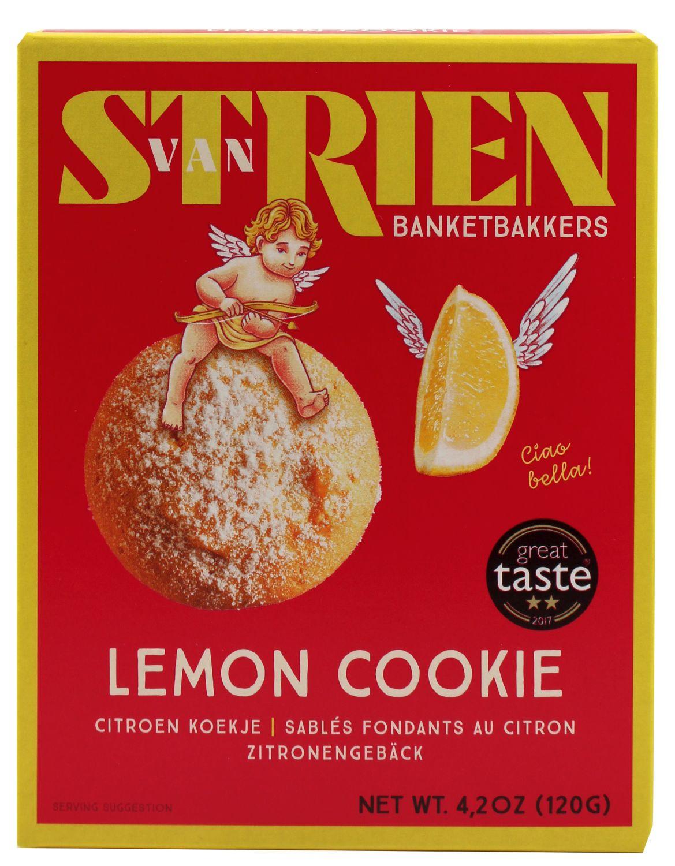 Butter Zitrone Spritzgebäck - van Strien 120g - Niederlande