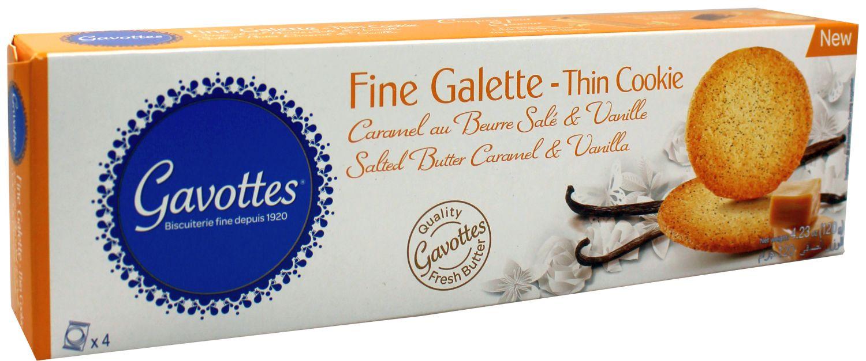 Caramel au Beurre Sale & Vanille - Keks Karamell, Butter u. Vanille 120g - Gavottes, Bretagne