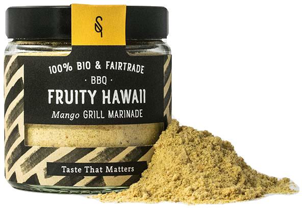 BBQ Fruity Hawaii - Bio Grillgewürz 70g - SoulSpice