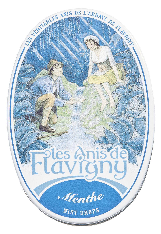 Anisdragees Minze - Dose 50g - Les Anis de Flavigny