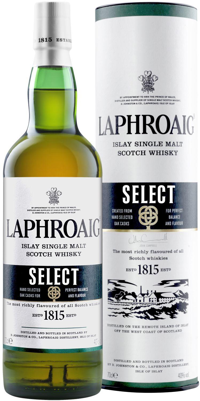 Laphroaig Select - Single Islay Malt - 40% Vol.  0,70 l