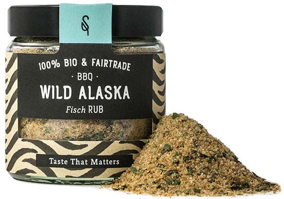BBQ Wild Alaska - Bio Grillgewürz 70g - SoulSpice