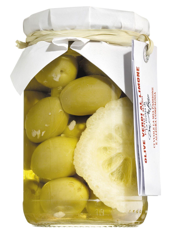 Grüne Oliven mit Zitrone - Don Antonio 280g - Abruzzen, Italien