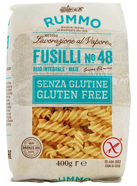 Fusilli No. 48 - Glutenfreie Nudeln 400g - Rummo, Kampanien