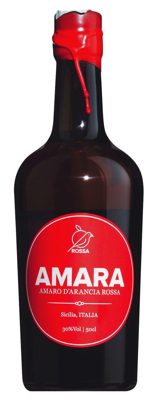 Amara di Arancia Rossa - 30% Vol.  0,5 l - Rossa, Italien