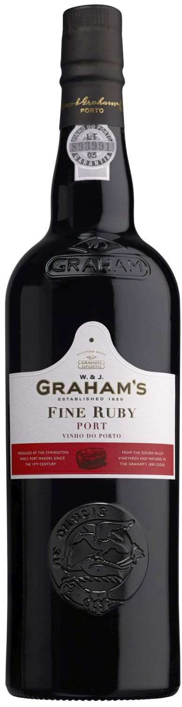 Grahams - Fine Ruby Port - 20% Vol.  0,75 l