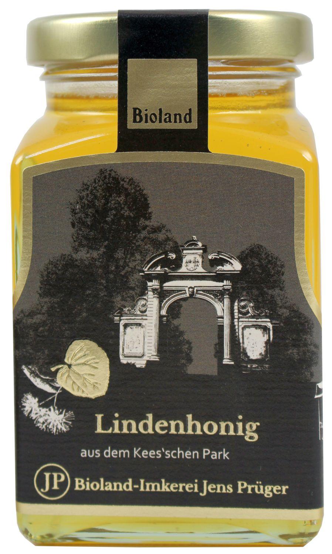 Honig Lindenhonig flüssig - Imkerei Jens Prüger 330g - Honig aus dem Keesschen Park