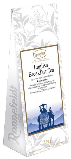 English Breakfast - schwarzer Tee aus Ceylon/Sri Lanka - Ronnefeldt 100g