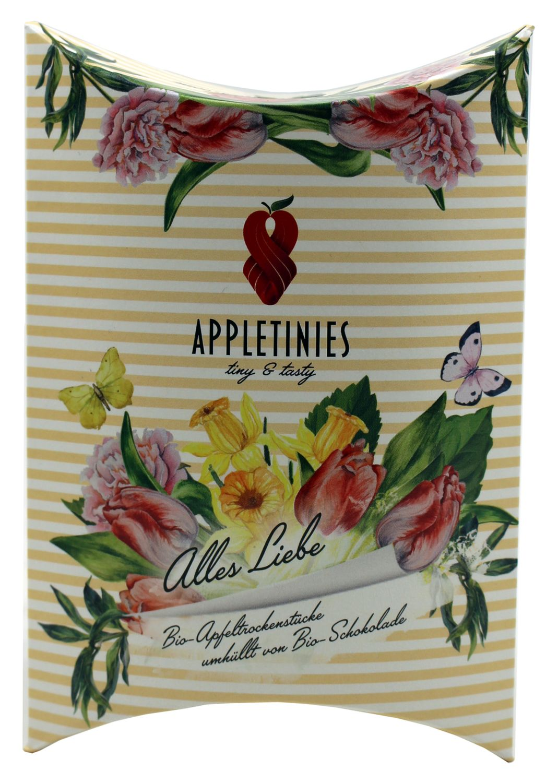 Appletinies Alles Liebe 45g - Weiße Schokol. mit Zitrone - 3fruits & friends, Österreich