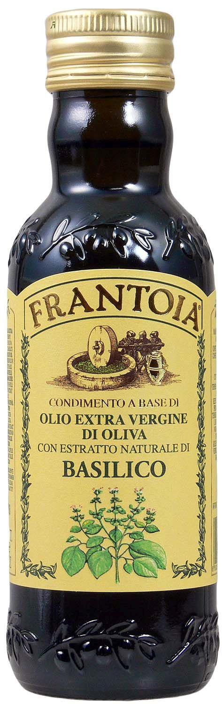 Olio extra vergine di Oliva Basilico - Frantoia 250 ml - Sizilien