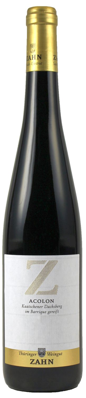 Acolon trocken - Kaatschener Dachsberg  0,75 l - Thüringer Weingut Zahn