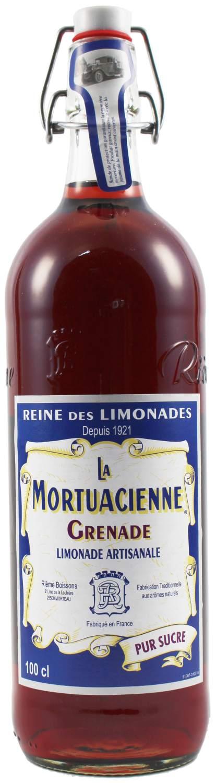 La Mortuacienne - Granatapfellimonade  1,0 l - Rieme Boissons, Frankreich