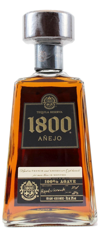 Tequila Reserva 1800 - Anejo - 38% Vol.  0,70 l