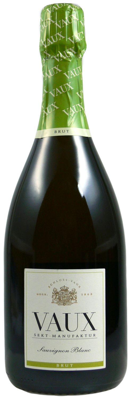 Sauvignon Blanc Brut - Klassische Flaschengärung 0,75 l - Schloss Vaux Sekt Manufaktur, Eltville