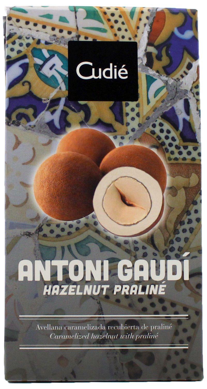 Antoni GAUDI - Haselnusspralinen 100g - Cudie