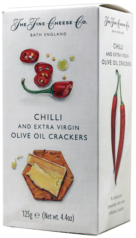 Chilli Cracker 125g - Fine Cheese Company - Somerset, England