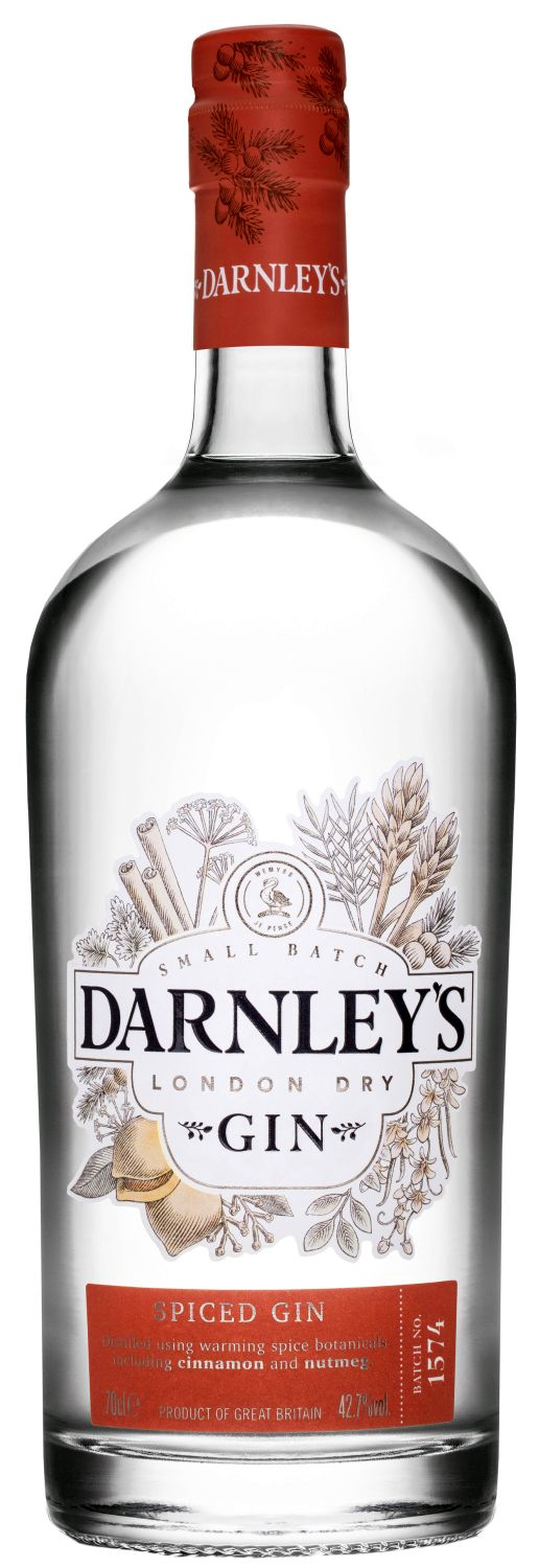 Darnleys Spiced Gin - Celtic Gin Collection - Lowlands, Fife 42,7% Vol.  0,70 l