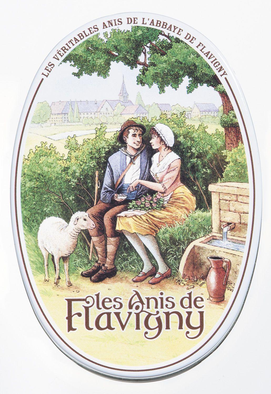 Anisdragees pur - Dose 50g - Les Anis de Flavigny