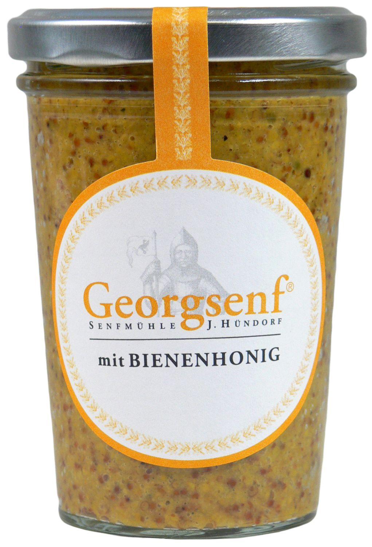 Georgsenf mit Honig - biologische Herstellung 160g - Senfmühle Hündorf, Halle (Saale)