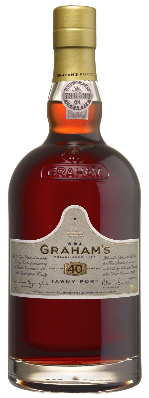 Grahams - 40 Jahre Tawny Port - 20% Vol.  0,75 l