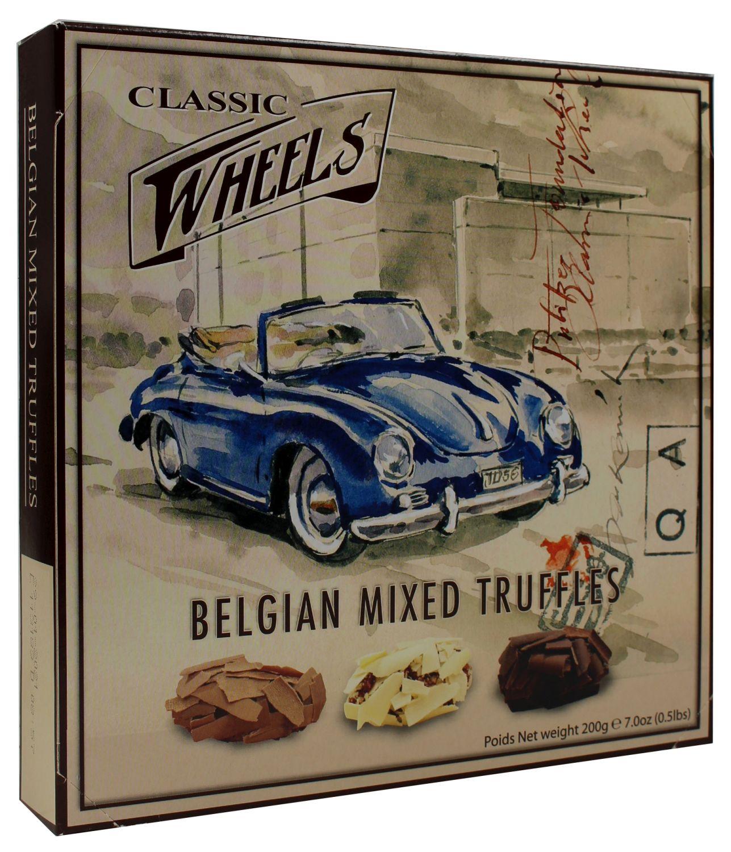 Belgian Mixed Truffles - Schoko Mix mit Füllung 200g - Classic Wheels, Belgien