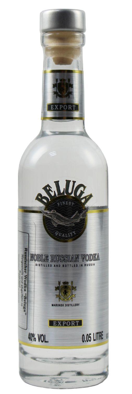 Beluga Vodka - 40% Vol.  0,05 l - Sibirien, Russland