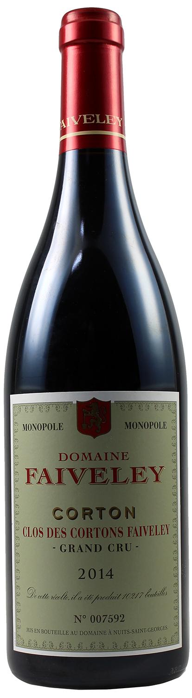 2014er Corton Clos des Cortons - Domaine Faiveley  Monopole - Burgund 0,75 l