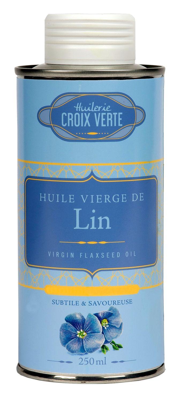 Huile vierge de Lin - Leinöl 250ml - Saumur, Loire