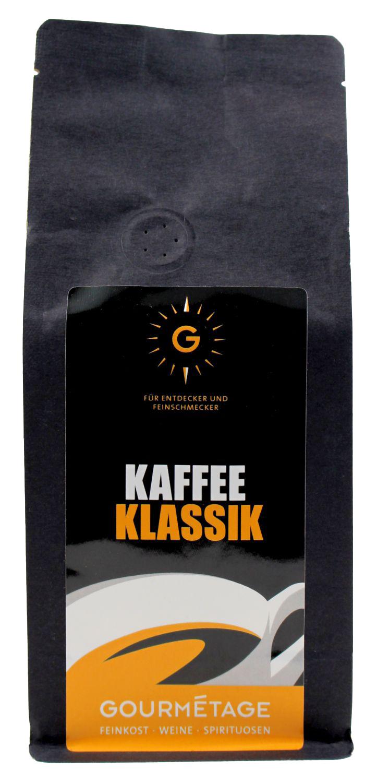 Gourmetage - Kaffee Klassik gemahlen 250g