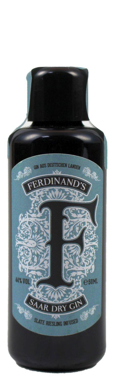 Ferdinands Saar Dry Gin - Schiefer Riesling infused - 44% Vol. 0,05 l