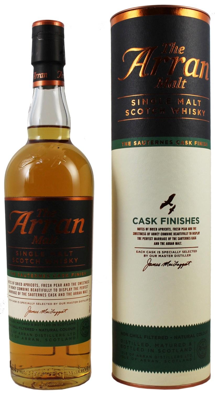 Arran Sauternes Cask  Finish - 50% Vol. 0,70 l - Isle of Arran Single Malt