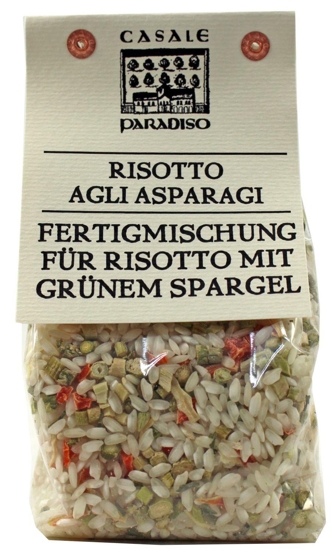 Risotto agli Asparagi - Risotto mit grünem Spargel 300g - Casale Paradiso, Italien