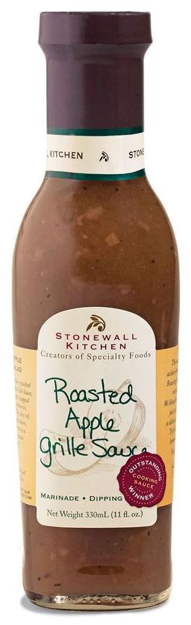 Roasted Apple Grille Sauce - BBQ-Sauce 330ml - Stonewall Kitchen, USA
