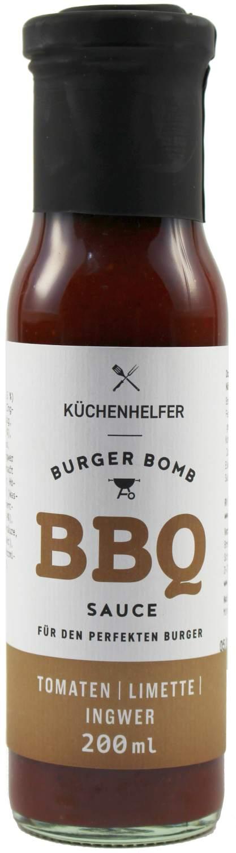 Burger Bomb BBQ Sauce - Limette Ingwer 200ml - Bremer Feinkost