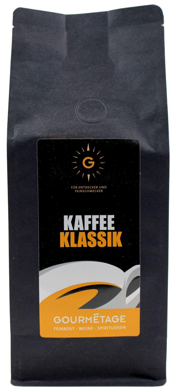 Gourmetage - Kaffee Klassik gemahlen 500g