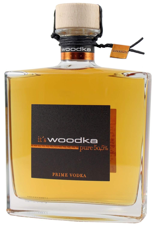 Woodka Prime Vodka - 50,5% Vol.  0,70 l - Brennerei Scheibel