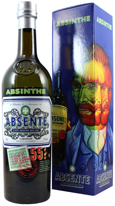 Absinth Absente - Henri Bardouin - 55% Vol.  0,70 l
