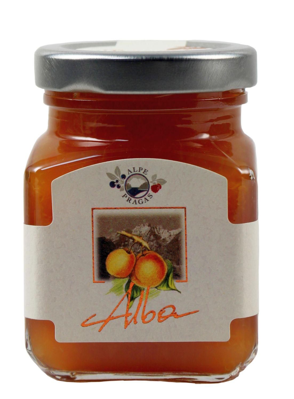 Alba  Marille - Fruchtaufstrich 110g - Alpe Pragas, Südtirol