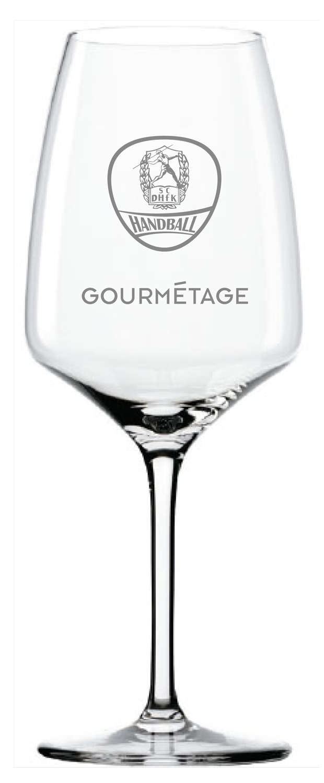 DHFK Handball Weinglas - 0,20 l im 6er Karton - Gourmetage