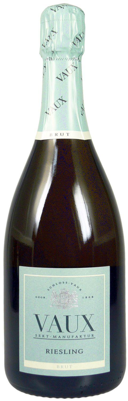 Riesling Brut - Klassische Flaschengärung 0,75 l - Schloss Vaux Sekt Manufaktur, Eltville