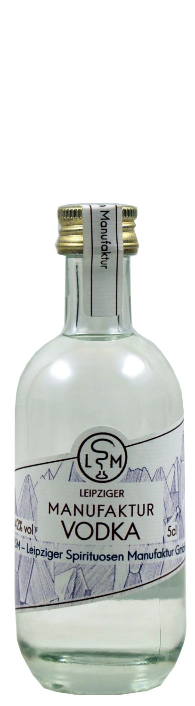 Leipziger Manufaktur Vodka - 42% Vol.  0,05 l - Leipziger Spirituosen Manufaktur