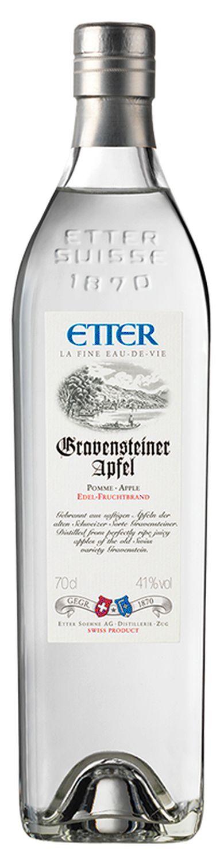 Gravensteiner Apfelbrand - Etter Schweiz - 41% Vol.  0,70 l