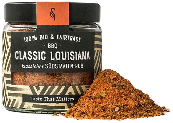 BBQ Classic Louisiana - Bio Grillgewürz 65g - SoulSpice