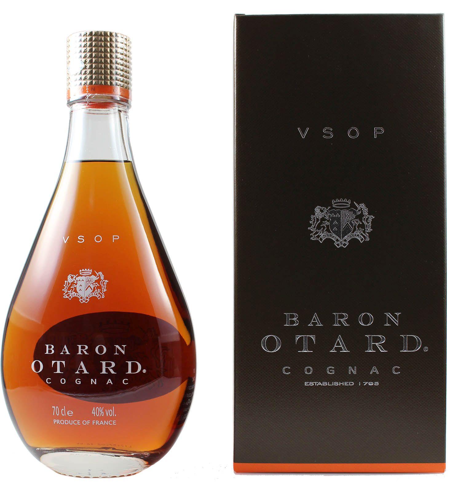 Baron Otard - Cognac VSOP - 40% Vol.  0,70 l