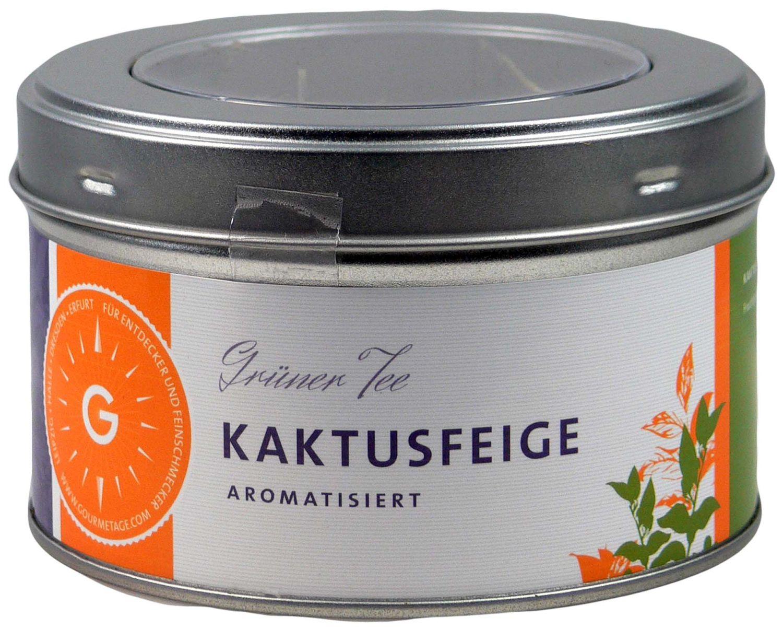 Kaktusfeige - aromatisierter grüner Tee 80g - Gourmetage Finest Selection