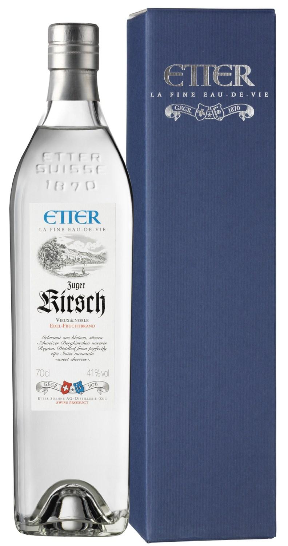 Zuger Kirsch - Etter Schweiz - 41% Vol. 0,70 l
