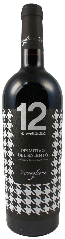 12 e Mezzo - Primitivo del Salento IGP - Varvaglione 0,75 l